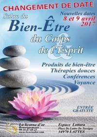 Salon Bien-être de Lattes, 8 et 9 avril 2017
