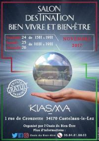 Salon Destination Bien vivre et Bien-être - Du 24 au 26 novembre 2017