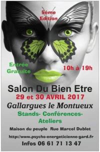 Retrouvez-moi à Gallargues Le Montueux (30) les 29 et 30 avril 2017